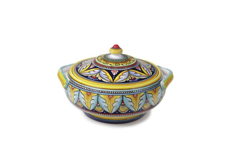 Кастрюля керамическая декоративная