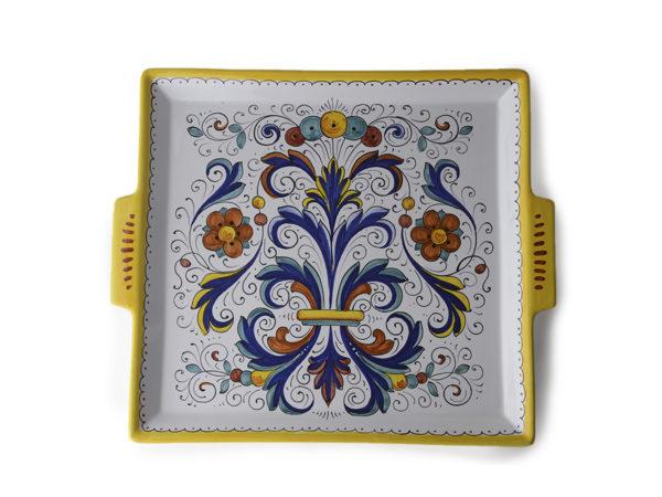 Поднос керамический Ricco Deruta