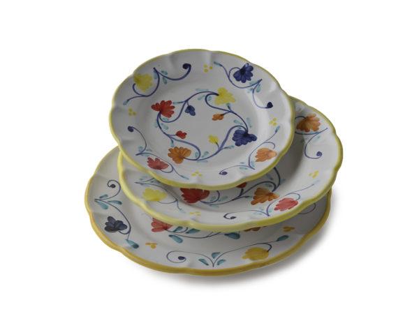 Набор тарелок из 3шт