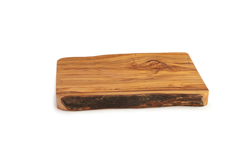Толстая разделочная доска из оливкового дерева