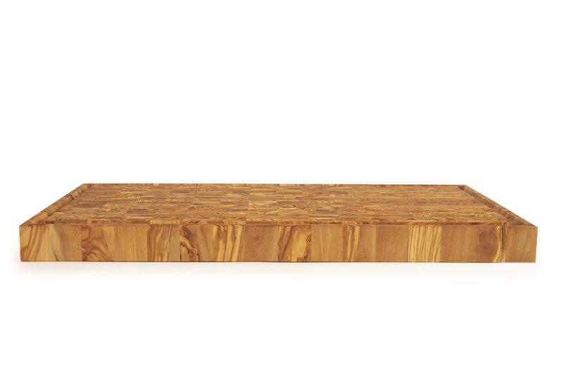 Торцевая разделочная доска из оливы