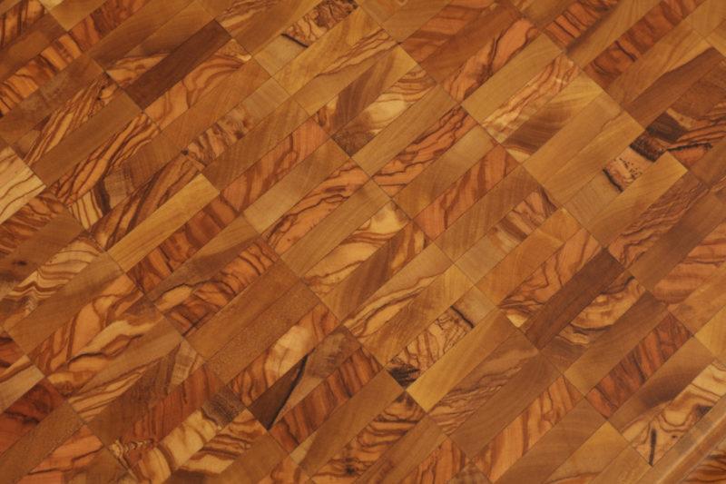 Торцевая доска из оливы