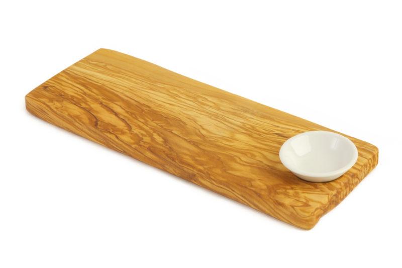 Доска для подачи и керамическая чаша