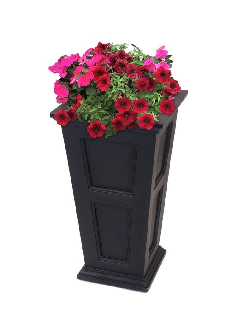 Большое уличное кашпо для цветов